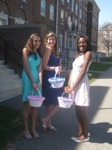 The Quad had ample space for an Easter Egg Hunt