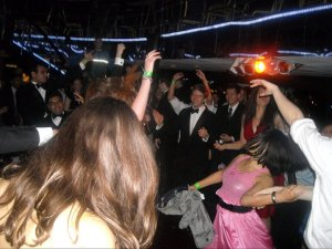 Who else could rock out on a boat three years in a row for formal?