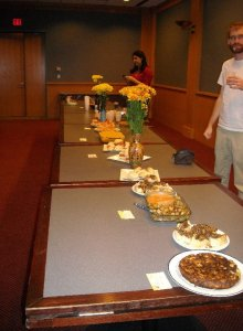 Currier welcomed two years of my need to have lots of food served at my birthday.