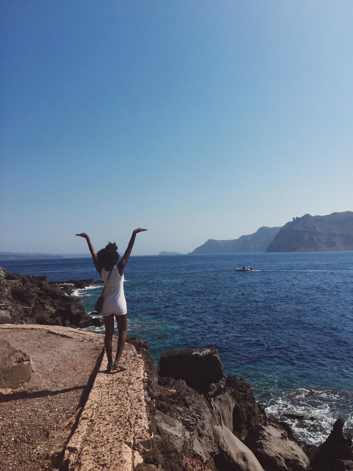 Greece Days 3-5, The Beauty of Santorini and#BlackGirlMagic